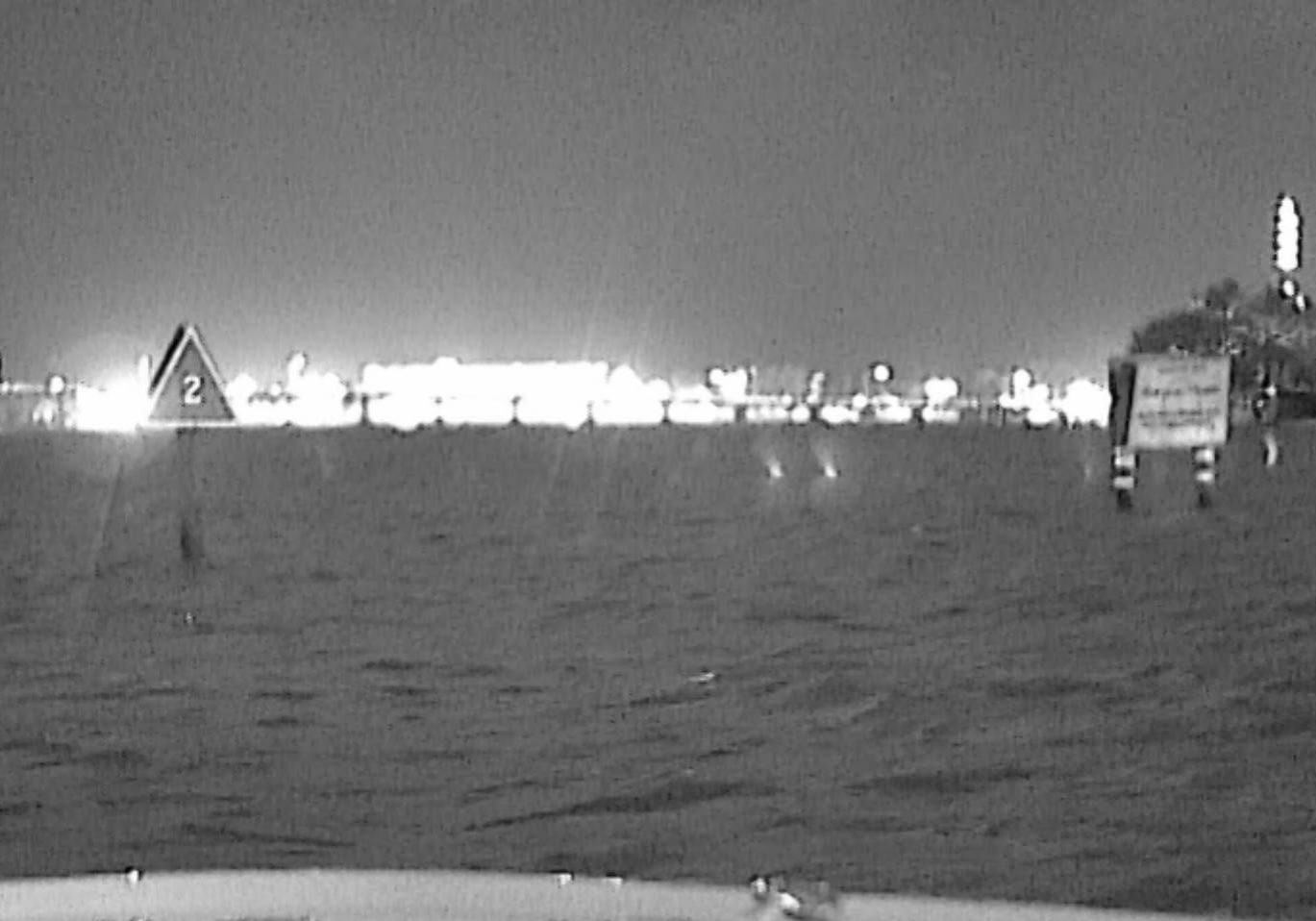 Nite Track Night Vision moonless night Biscayne Bay